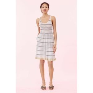 Rebecca Taylor La Vie Pointelle Sweater Dress